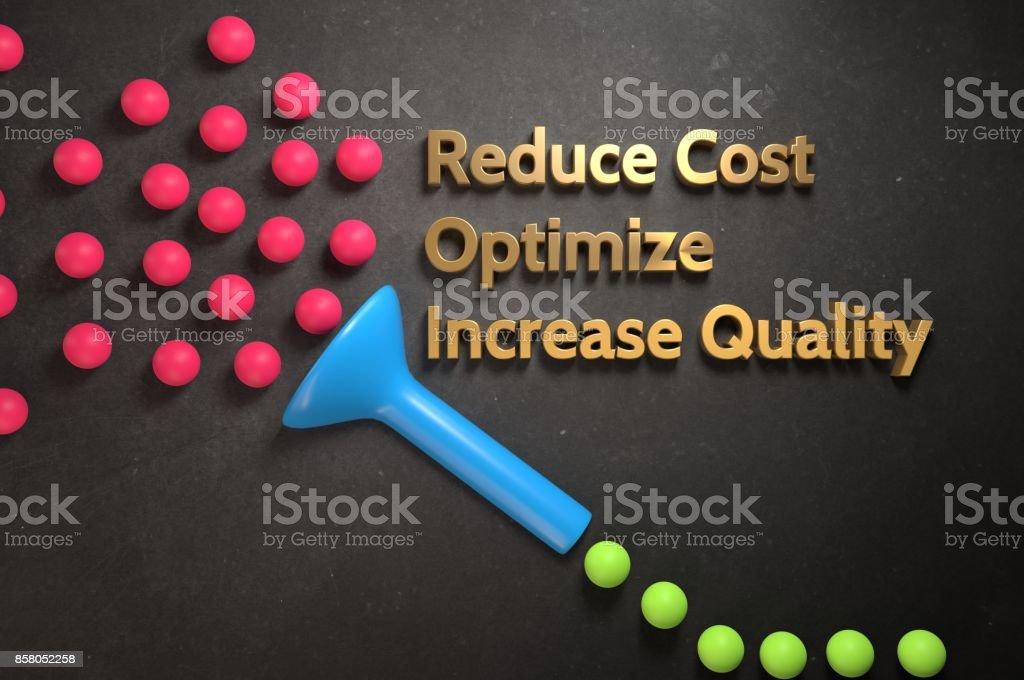 Process Optimization stock photo
