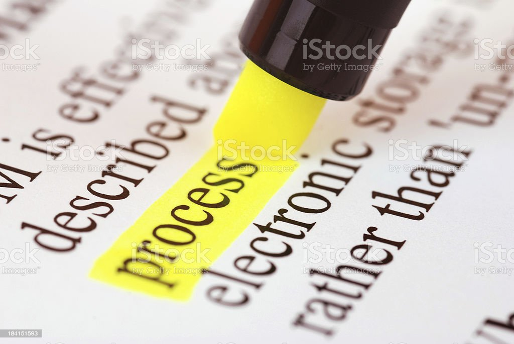 Process royalty-free stock photo