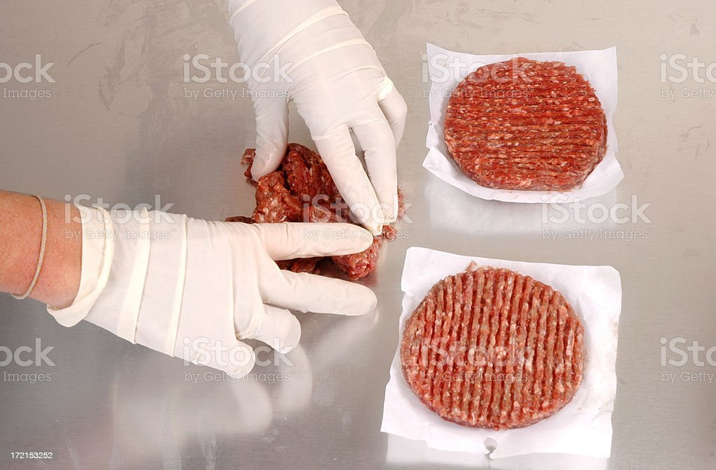 Processing food. royalty-free stock photo