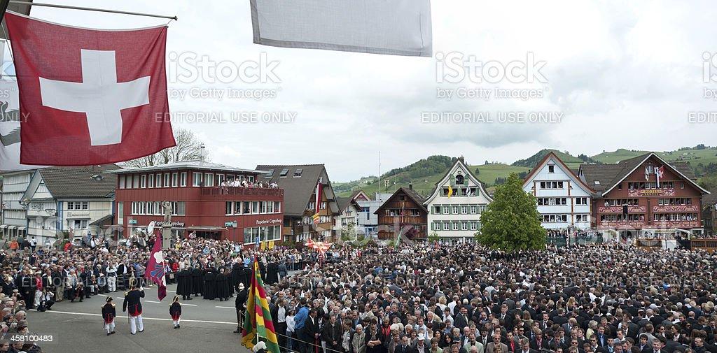 Prozession vor Beginn des Landsgemeinde