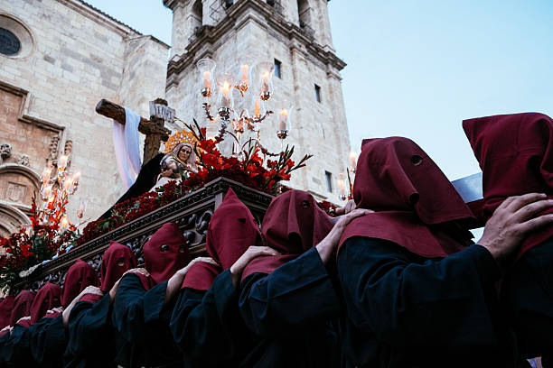 procession in spain - easter procession spain bildbanksfoton och bilder