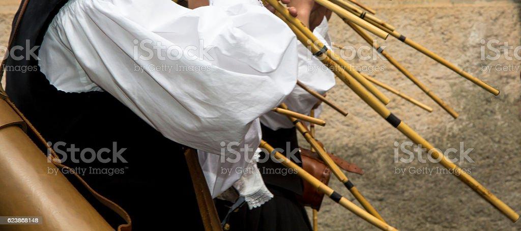 CAGLIARI, ITALY - May 1, 2013: 357 Procession of Sant'Efisio - Foto stock royalty-free di 40° anniversario