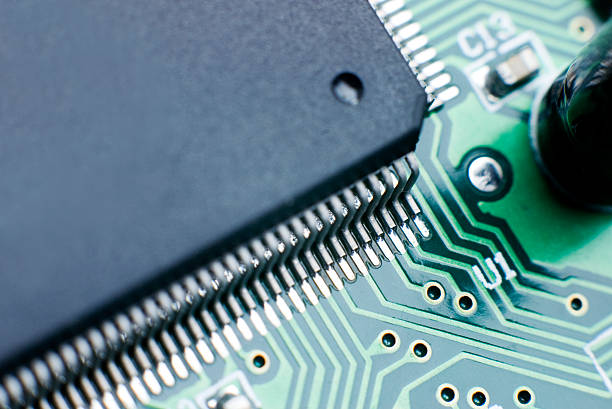 Processor Circuit Board stock photo