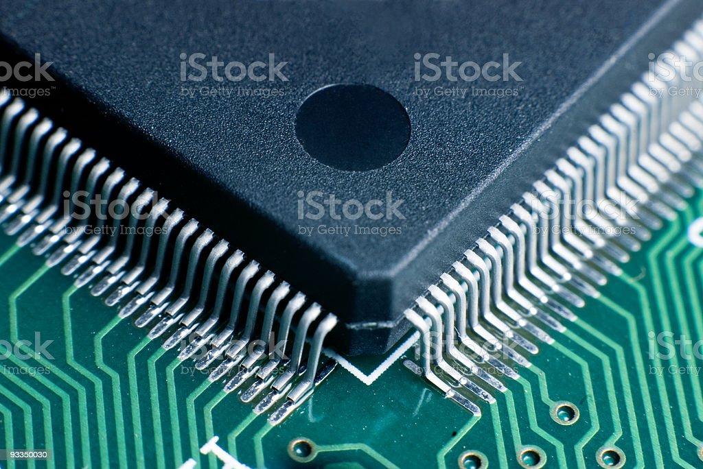 Processor Circuit Board royalty-free stock photo