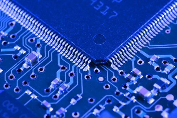 Processor in larger, macro