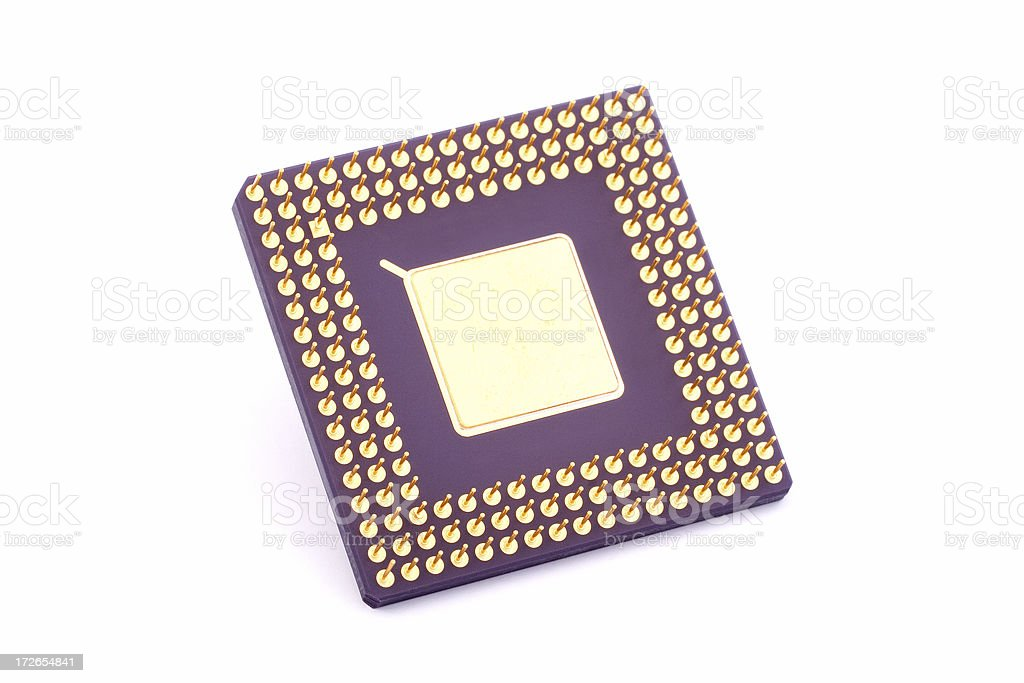 Processor royalty-free stock photo