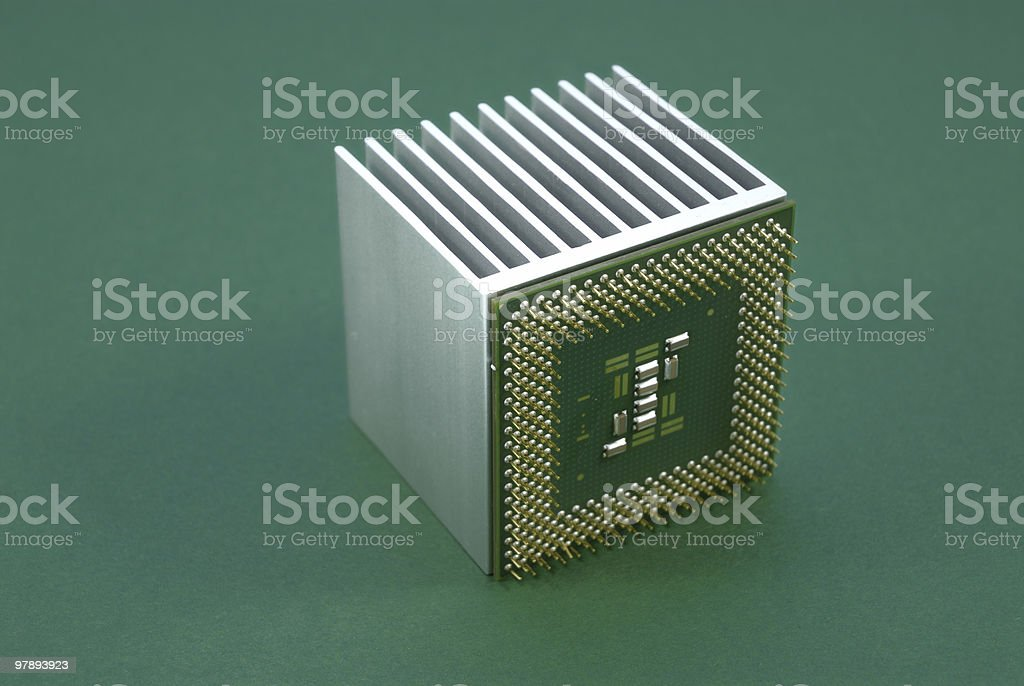 processor royalty-free stock photo