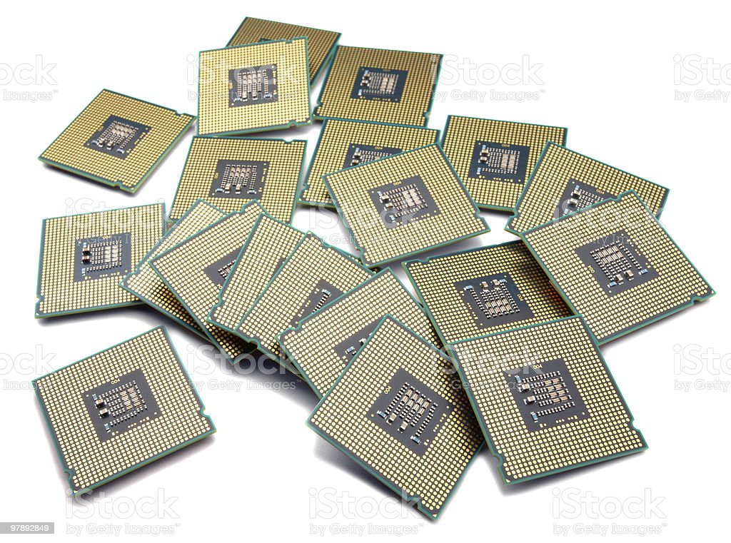 Processors royalty-free stock photo