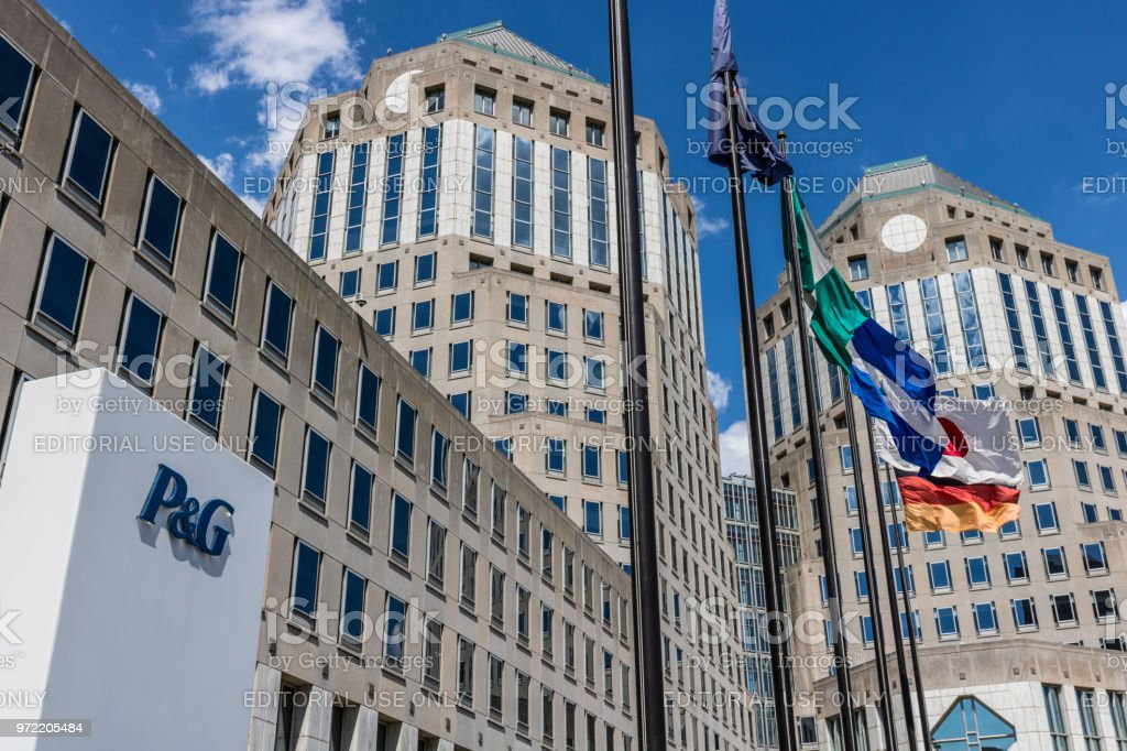 Procter & Gamble Corporate Headquarters. P&G is an American Multinational Consumer Goods Company IX