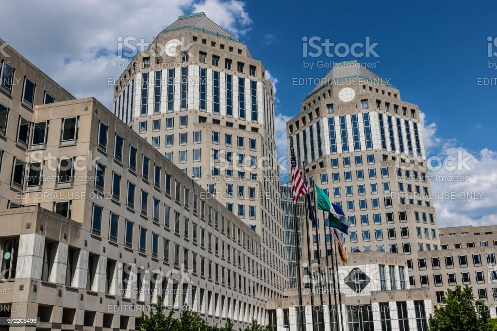 Procter & Gamble Corporate Headquarters. P&G is an American Multinational Consumer Goods Company VI