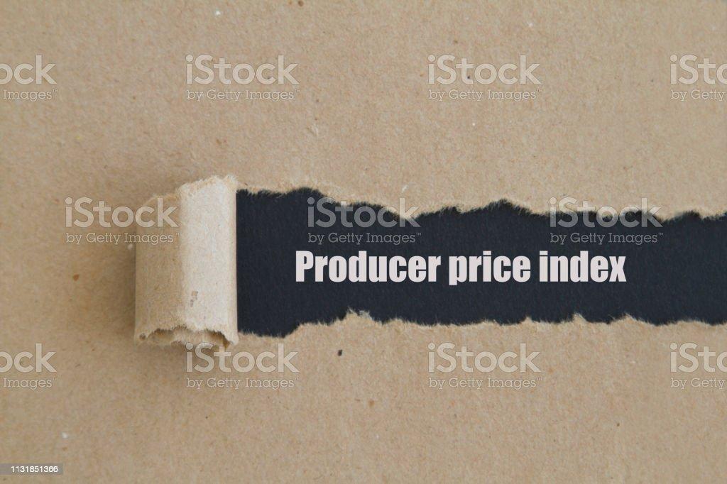 Üretici Fiyat Endeksi stok fotoğrafı