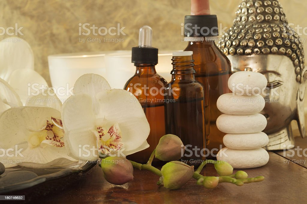 Product for spa royalty-free stock photo