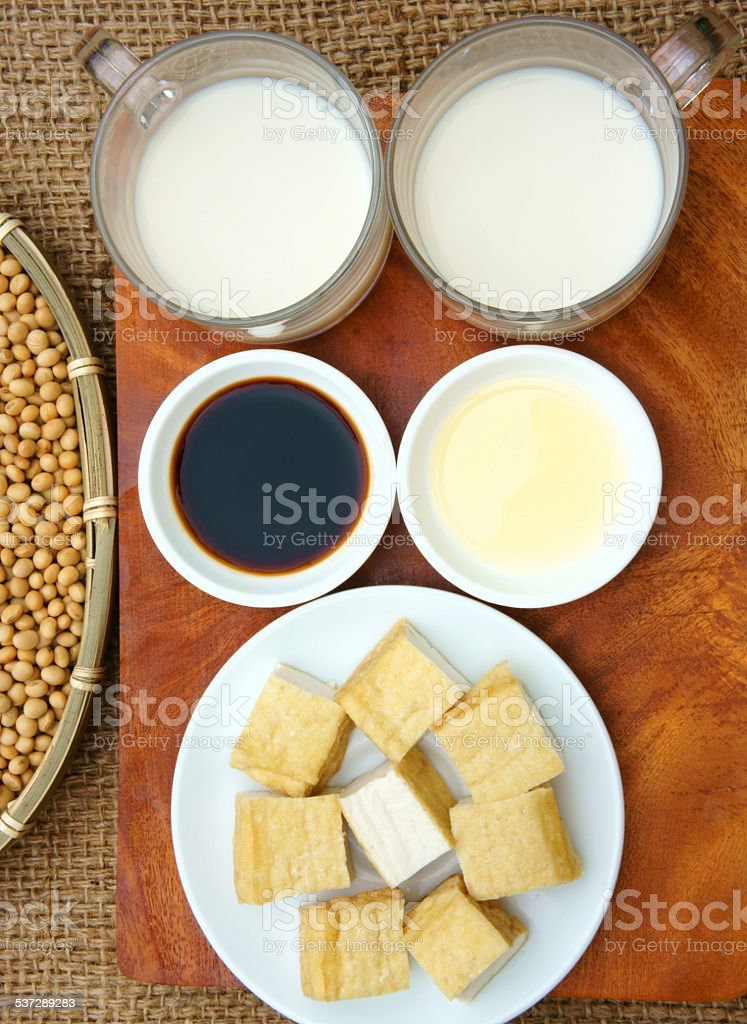 product from soybean stock photo