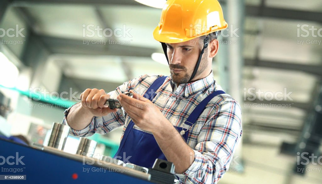 Product inspection. stock photo