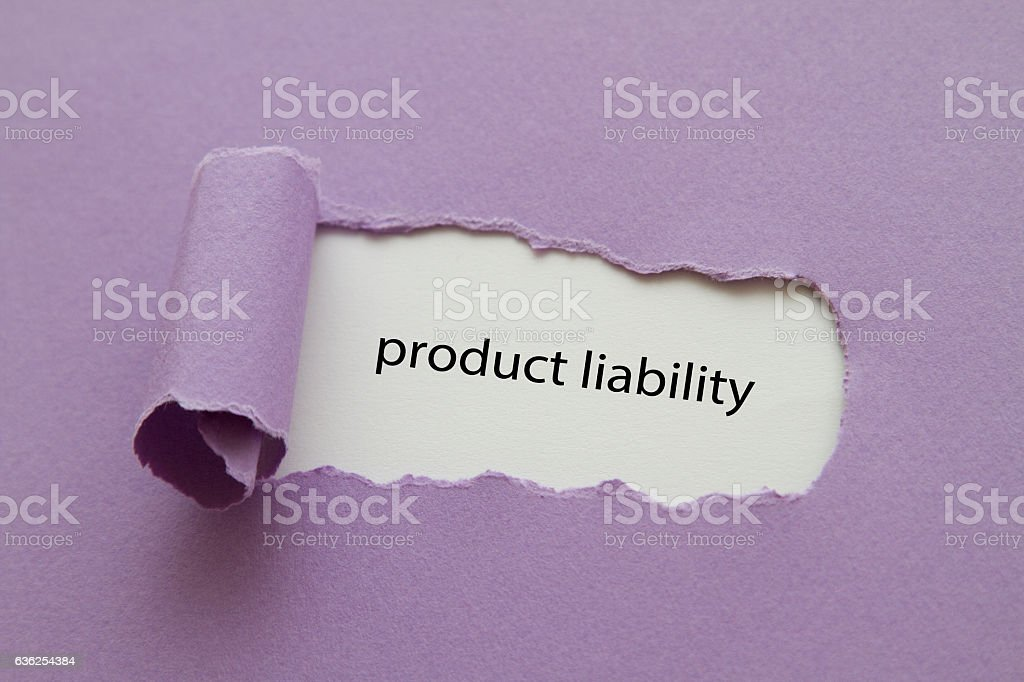 Product liability stock photo