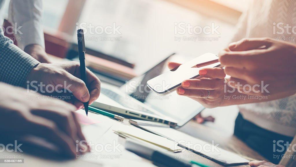 Produkt Tagung. Neue marketing-Strategie – Foto
