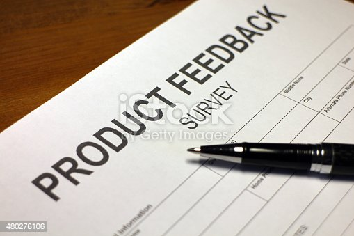 istock Product Performance Survey 480276106