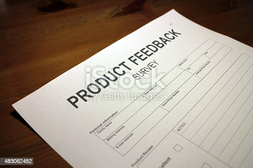 178090546 istock photo Product Satisfaction Survey Document 483062452