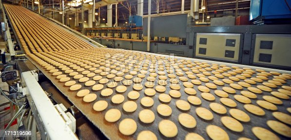 Cookies.Production line