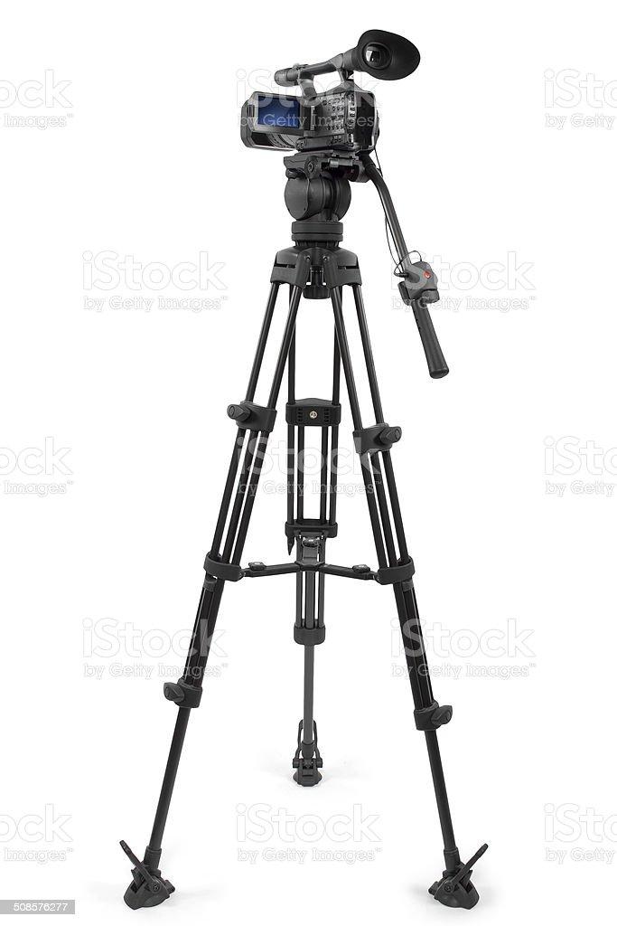 Produktion Video-Kamera auf einem Stativ – Foto