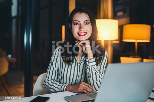 637233964 istock photo A productive night starts with a productive mindset 1188439509
