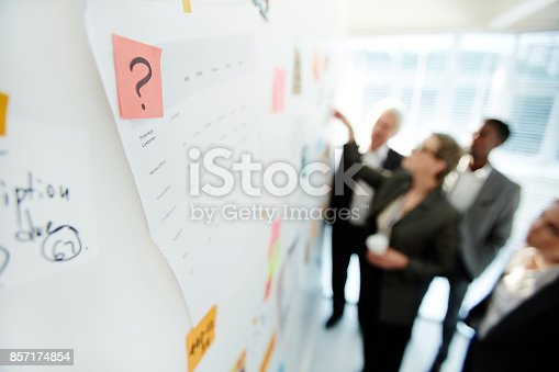 istock Productive Project Discussion of Colleagues 857174854