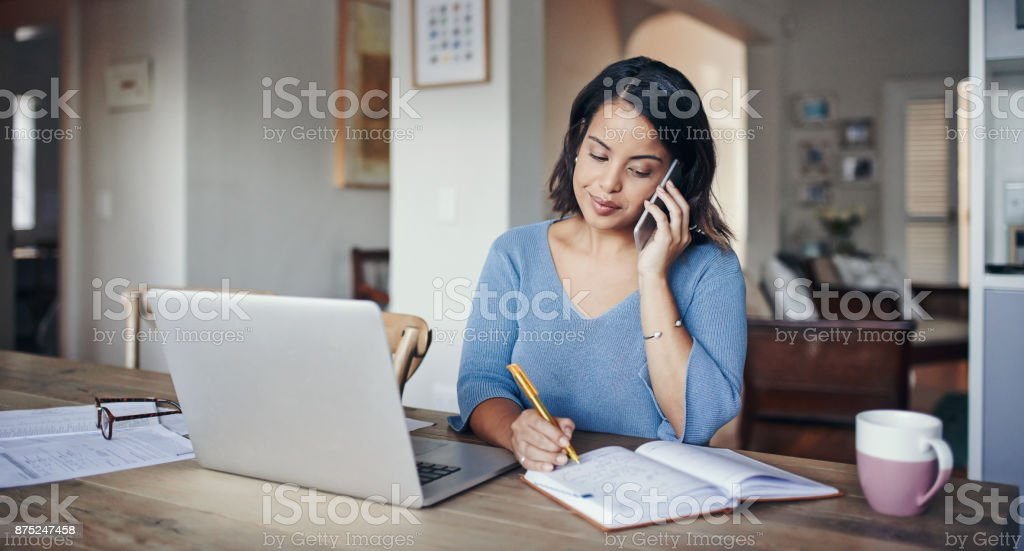 Productivity is all how you plan for it stock photo