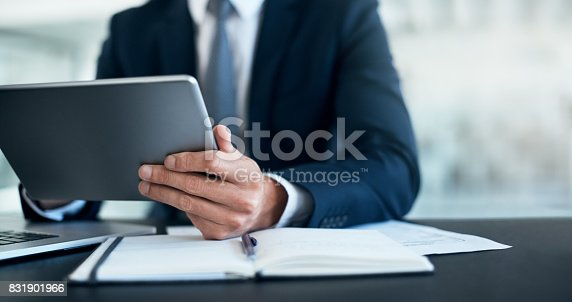 istock Productivity is in his hands 831901966