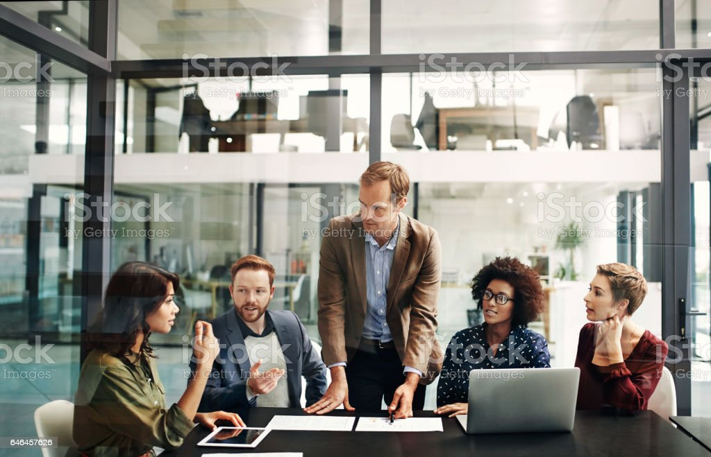 Productivity is top priority stock photo