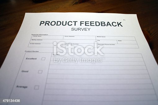 istock Products - Customer Satisfaction Survey 479134436