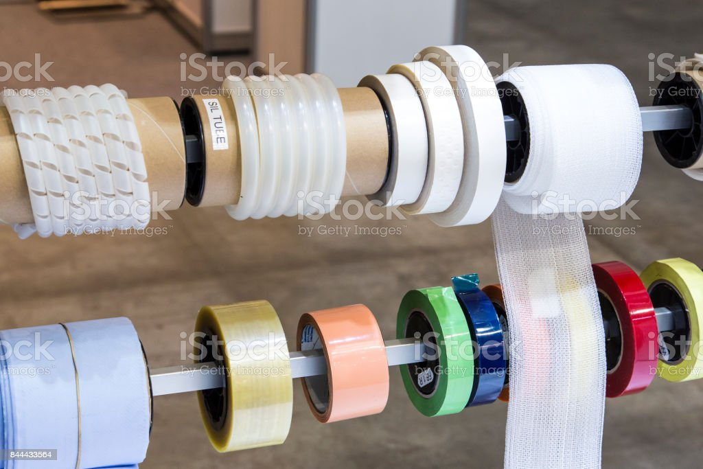 Products for the construction of polyurethane. stock photo