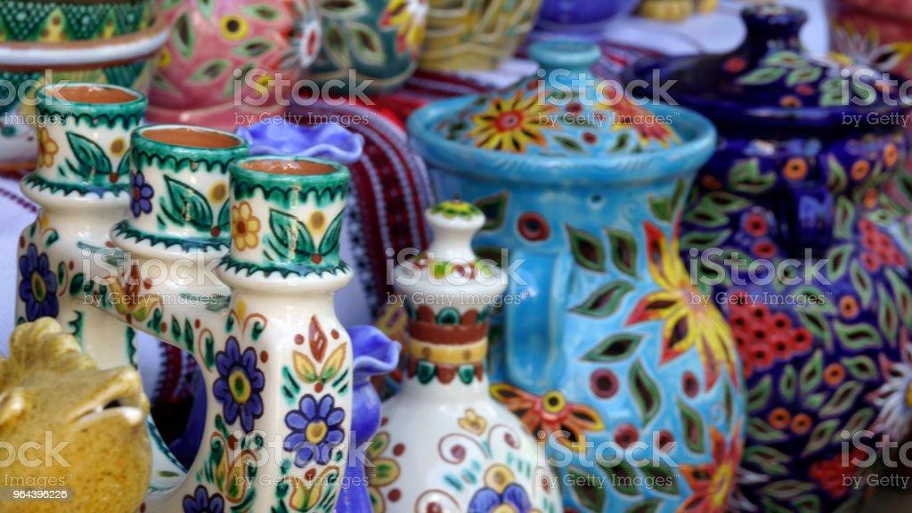 Produtos de barro artesanal - Foto de stock de Beleza royalty-free