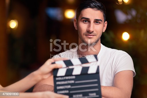 istock Professional Actor Ready for a Shoot 479391830