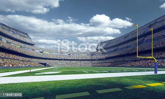 Professional american football stadium