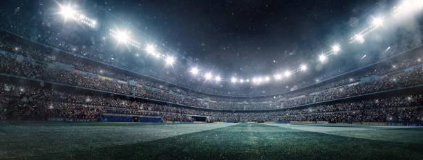プロアメリカンフットボールスタジアム - スタジアム ストックフォトと画像