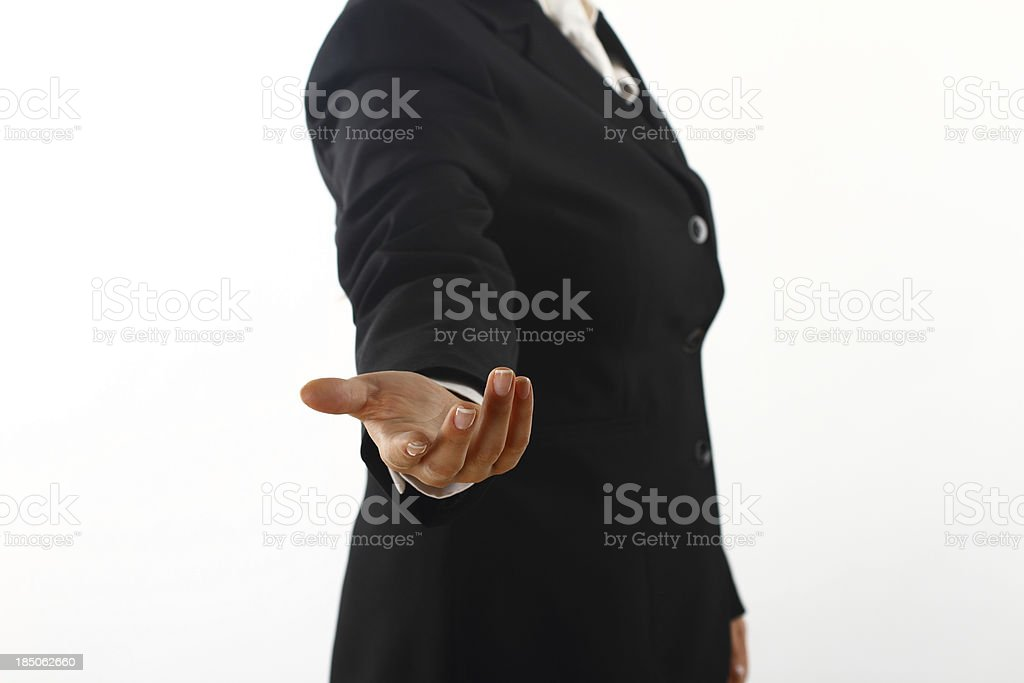 Professional assistance royalty-free stock photo