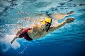 istock Professional athlete at swimming sport training 1210371248