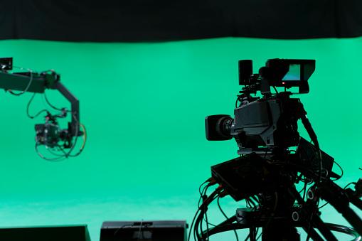 Film Set, Studio - Workplace, Lighting Equipment, Broadcasting, Camera - Photographic Equipment