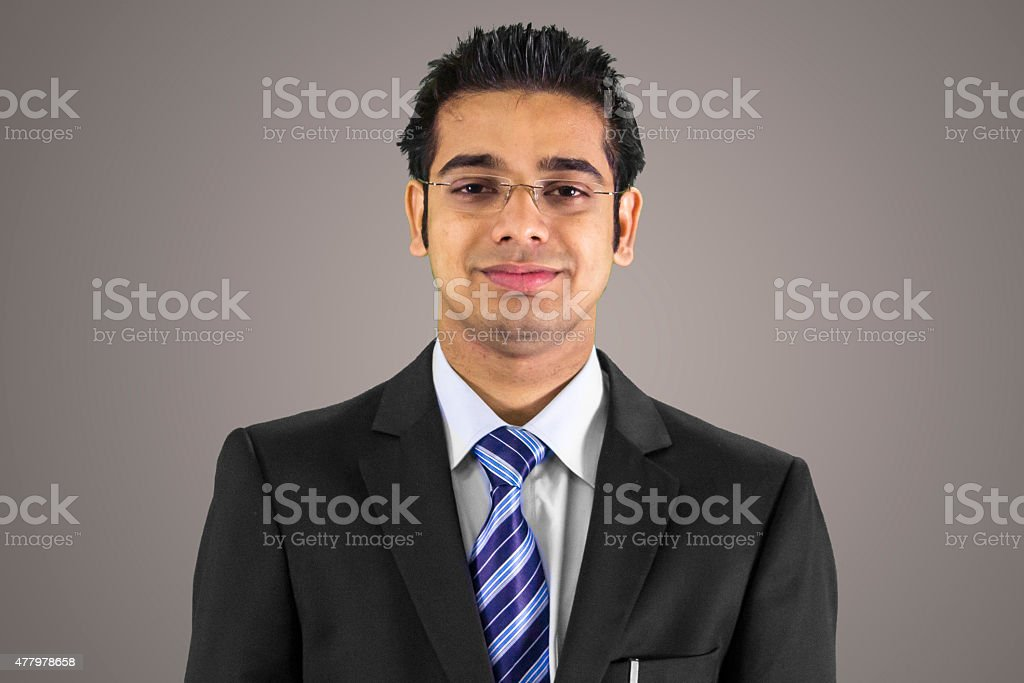 Professional business man stock photo