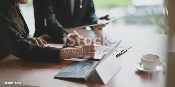 1068752548istockphoto Professional business partner working together 1169852029