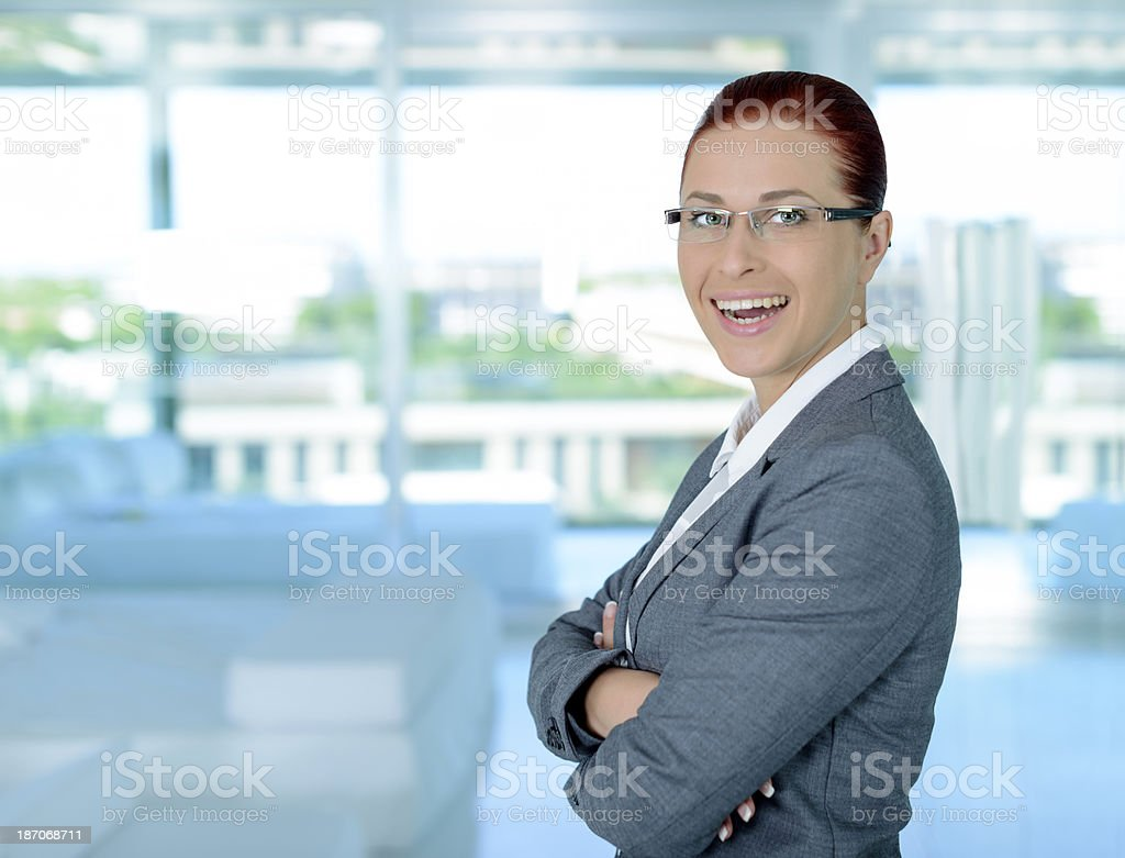 professional business woman royalty-free stock photo