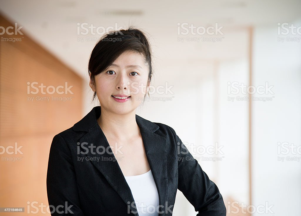 professional businesswoman royalty-free stock photo