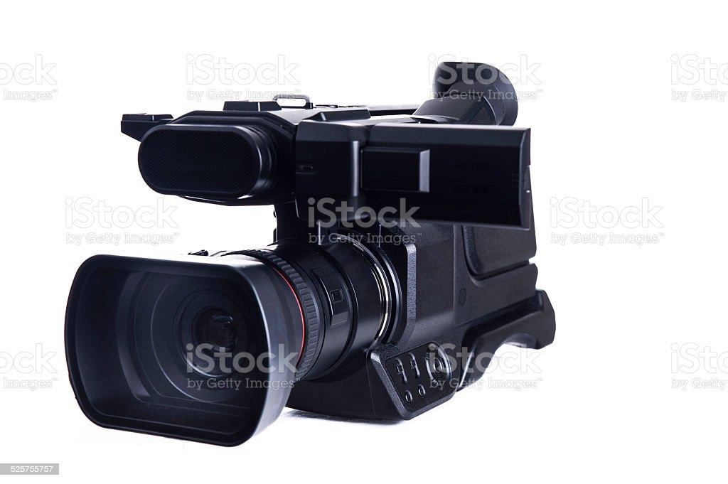 Professional camera stock photo