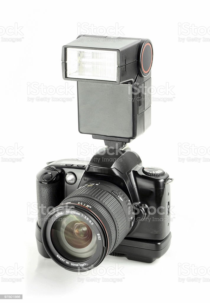Professional camera royalty-free stock photo