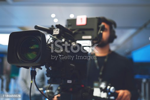 Home Video Camera, Studio - Workplace, Filming, Television Set, Camera Operator
