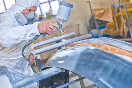 istock Professional car painting 523862342