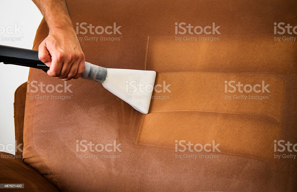 Professional cleaning stock photo