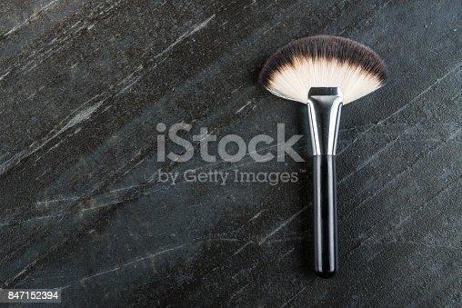 istock professional cosmetic makeup big fan brush tool 847152394