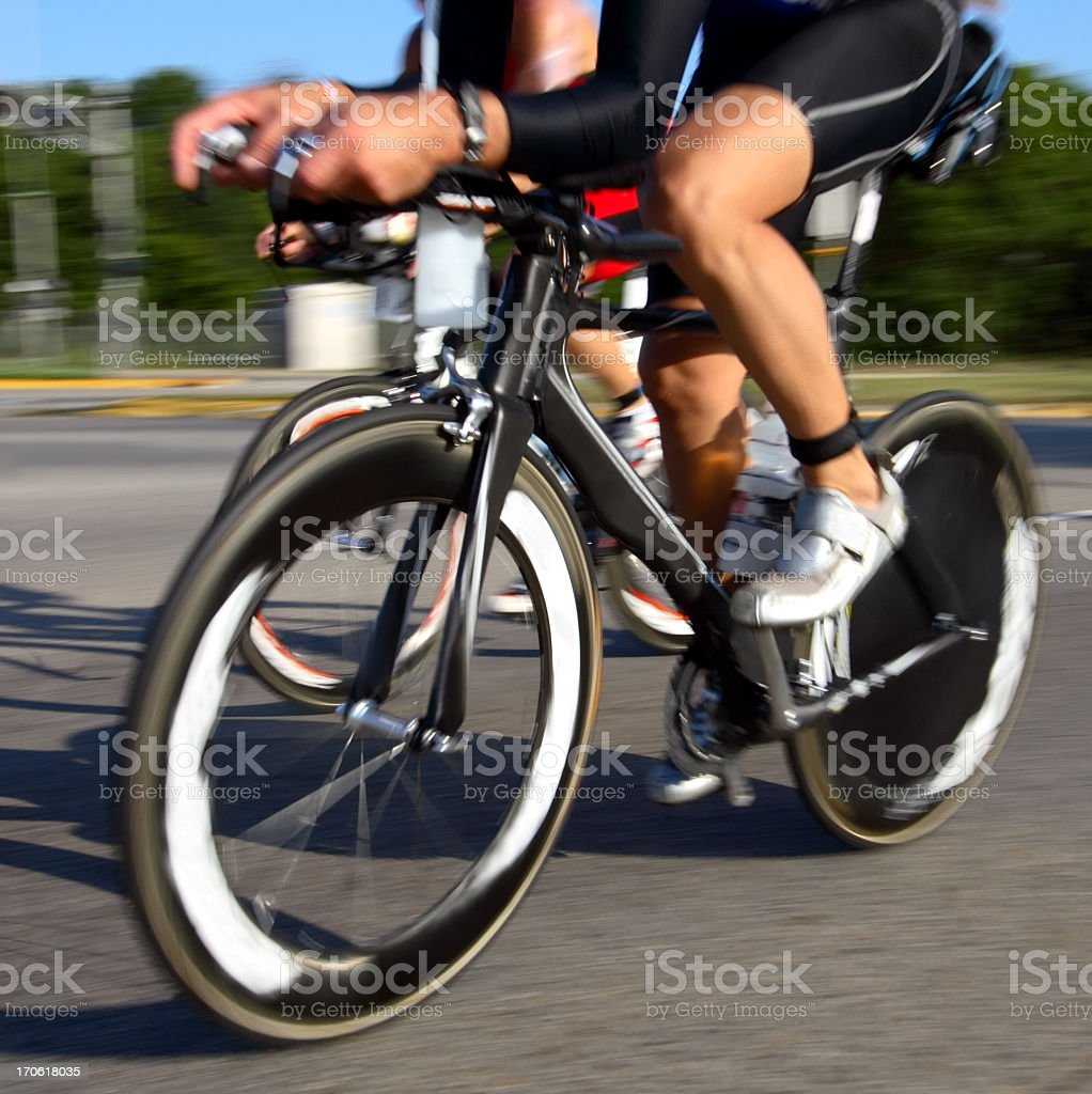 Professional Cyclist stock photo
