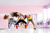 istock Professional dancer class dancing in dancing studio 1170865144